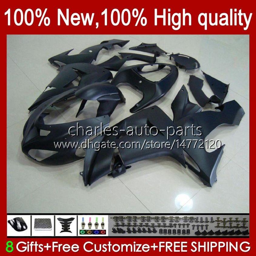 OEM Bodywork per Kawasaki Ninja ZX1000 ZX-10R ZX1000CC 06-07 Moto Body 14No.16 ZX 10R 10 R 1000 cc 1000CC 2006 2007 ZX10R 06 07 ZX1000C 2006-2007 FARIFICI OCCELL