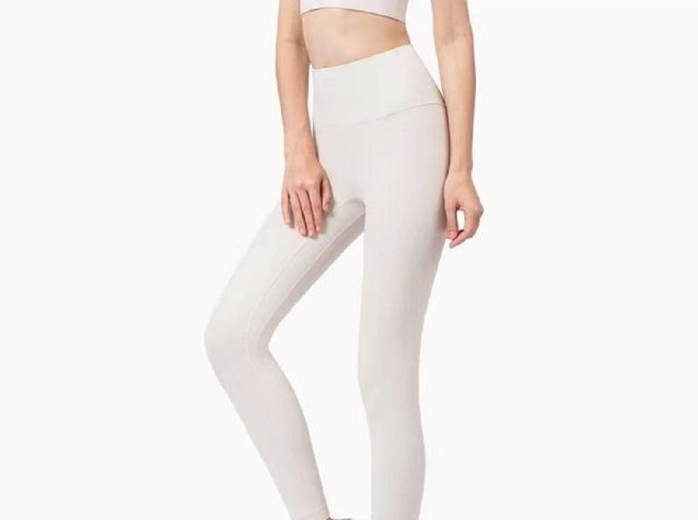 Fitness Formando Atlético Sólido Mujeres Chicas Cintura Alta Cintura Running Trajes de Yoga Damas Deportes Completos Leggings Pantalones Entrenamiento Q T3DC # 23