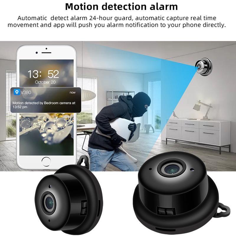 Wireless Mini WiFi Camera 1080pHome IP CCTV Surveillance IR Night Security Vision Motion Detect Baby Monitor P2P Cameras