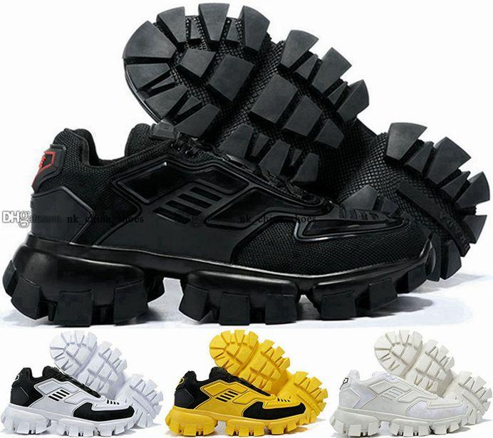 Chaussures Casual 12 Sneakers Mens Taille US 46 Classic Luxe Cloudbust Thunder Sneaker 5 Entraîneurs Femmes EUR Men 35 Designer Zapatos Scarpe Blanc