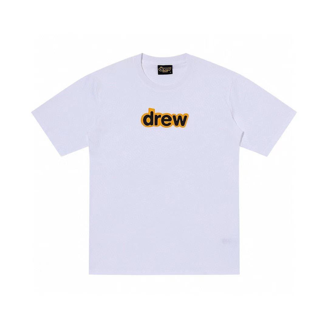 One Free 1Drew House Bieber compra manga corta Básica Skateboarding Student Student Foot Fished T-Shirt