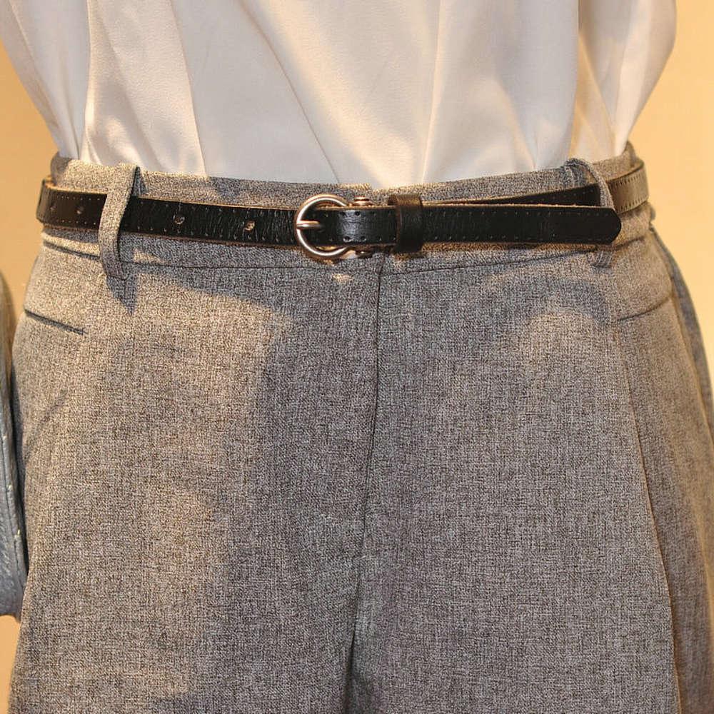 Модные аксессуары тонкие маленькие украшения, чистый пояс, женские кожаные джинсы, простой и универсальный пояс