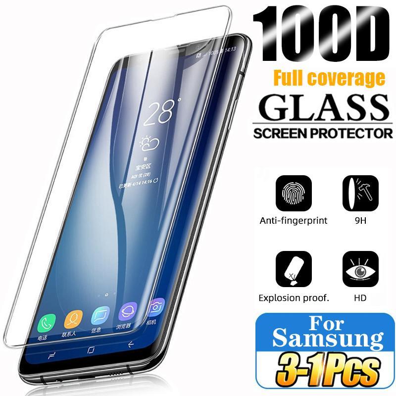 Tempered Glass For Samsung Galaxy S10 Plus S9 S8 Screen Protectors S20 S21 S10e S 9 8 10 e Note 20 Ultra