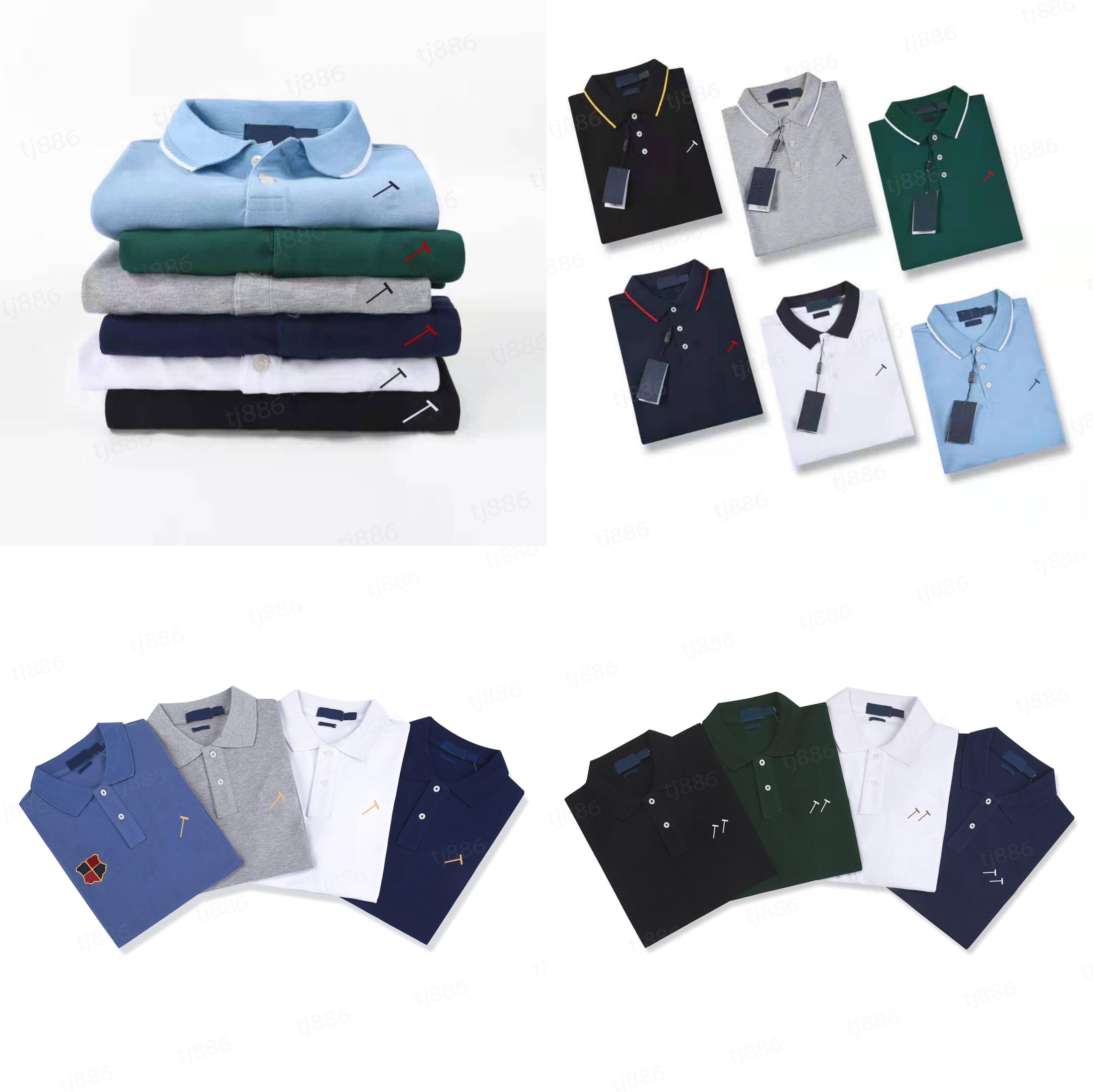 Polo Polo de Alta Qualidade Camisa Sticks Bordado Clássico Casual Casual Homme Mangas Curtas T - shirts Mulheres Algodão Confortável Tendência Verão Top1