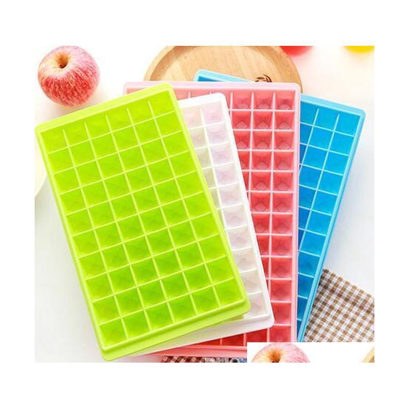 Tools Kitchen, Dining & Garden Drop Delivery 2021 60 96 Grids Molds Makers Food Grade Cube Tray Easy Release Diy Fruit Ice Mold Home Bar Kitc