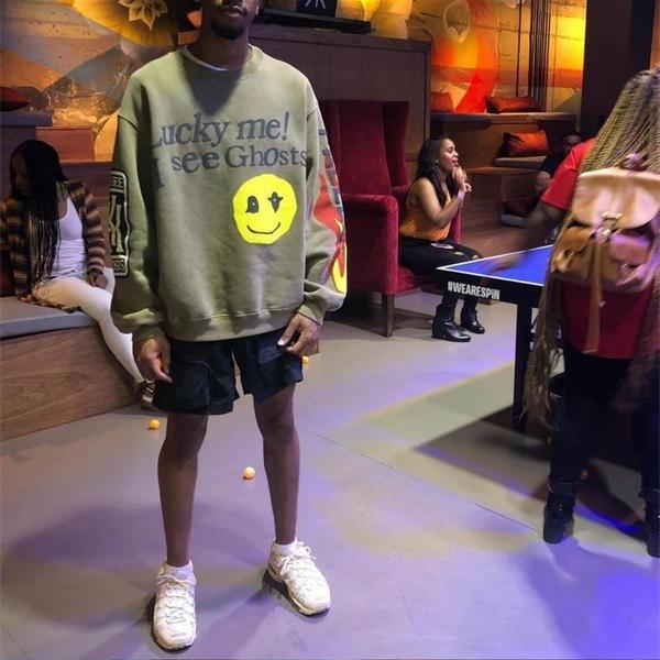 2020ss Kanye West сезон KSG Kids Смотреть призрачные женские мужчины толстовки HIPHOP негабаритные мужчины повседневные толстовки Pullover X0610