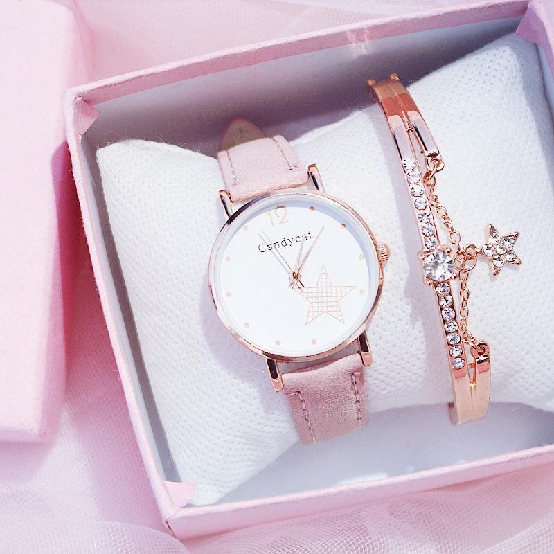 Armbanduhren Sterny Uhren Mode Armband Für Mädchen Elegante Frauenuhr Damen Armbanduhr Coole Uhr Student Relogio Feminino