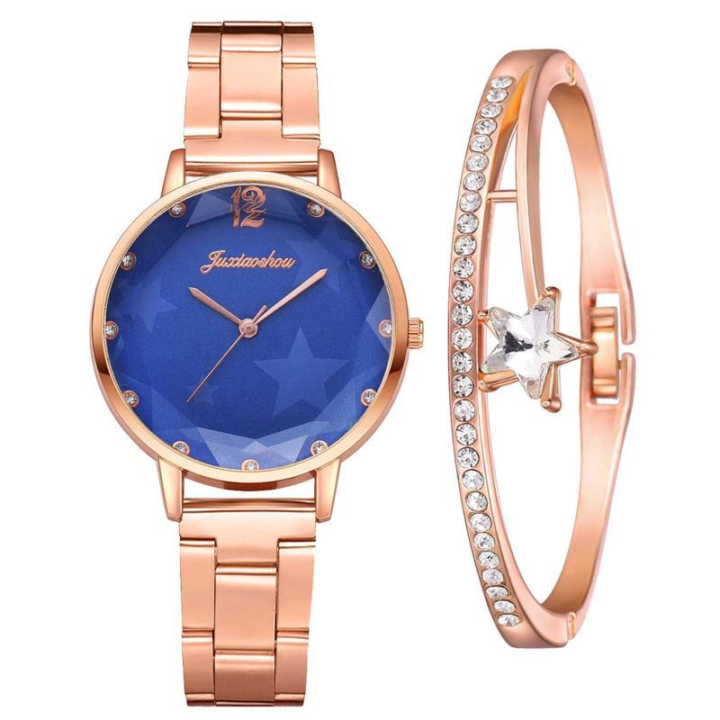 Mulheres luxuosas pulseira relógios top marca designer vestido de quartzo relógio senhoras douradas rosa ouro pulso Relogio feminino 2021 relógios de pulso