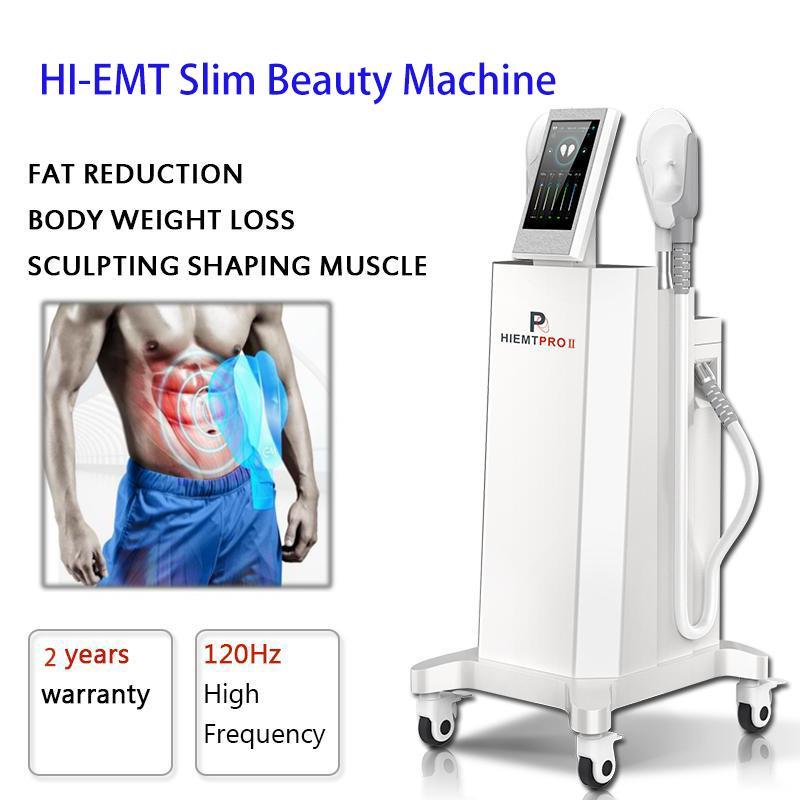 EMSLIM-Muskel-Stimulator Abnehmen Maschine Emshape Körperkonturierung Fettentfernung Hohe Intensität fokussiert elektromagnetisch