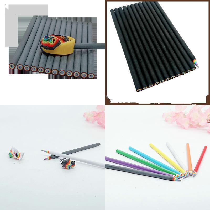 مبتدئين يظليل خردلات قلم دينغ أطفال لطيف فتاة رسم اسكتشات جميلة قوس قزح القلم للأطفال qylzyd