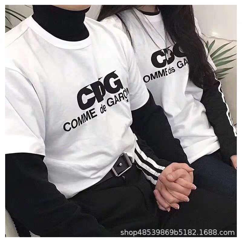 Новая мода подарок бренд мода новая чистая красная буква белая футболка женские круглые шеи бааолинг с коротким рукавом любовники родитель-ребенок носить 1