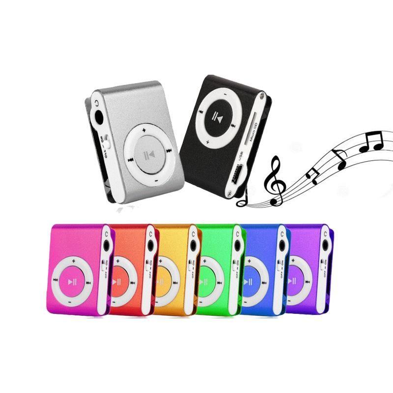 & MP4 Players JH Big Promotion Mirror Portable MP3 Player Mini Clip Waterproof Sport Music Walkman Lettore