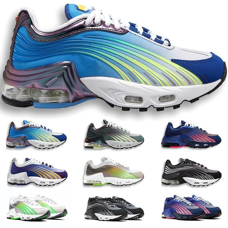TN Plus 2 II Tuned Laufschuhe Herren Trainer Chaussures Triple White Black Hyper Blue Green Og Neon Womens Sneakers Sports Runner