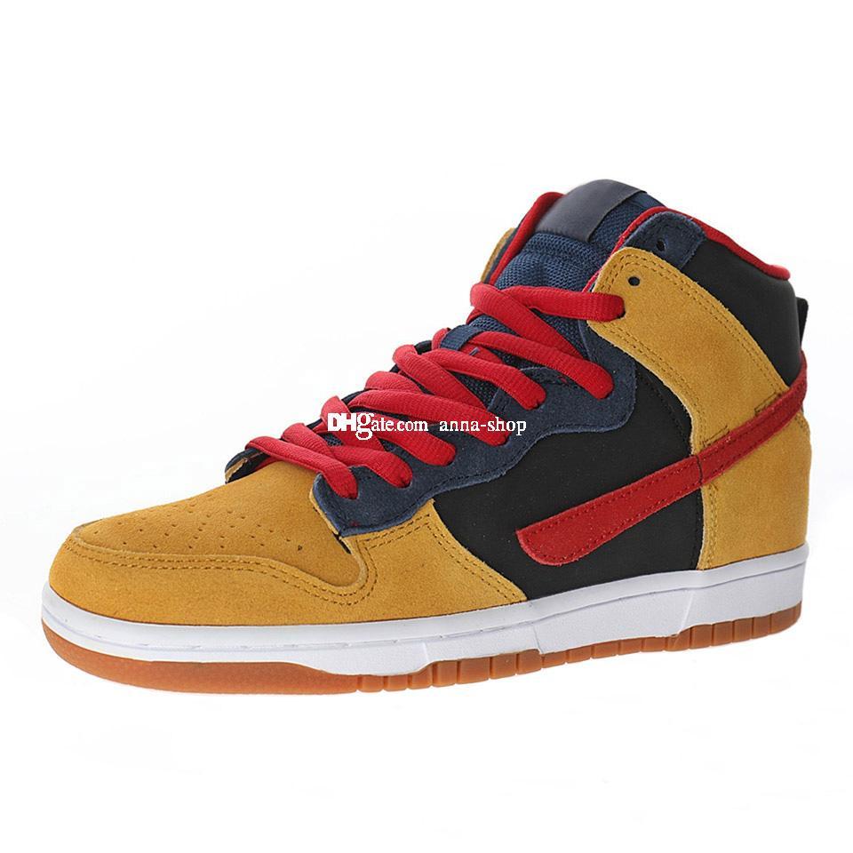 Dunks High Premium Reese Forbes Skates Scarpa per gli uomini Skate Boots Mens Caviglia Scarpe da ginnastica uomo Sneaker Sneaker Scarpe sportive maschile Skateboard Boot 313171-400