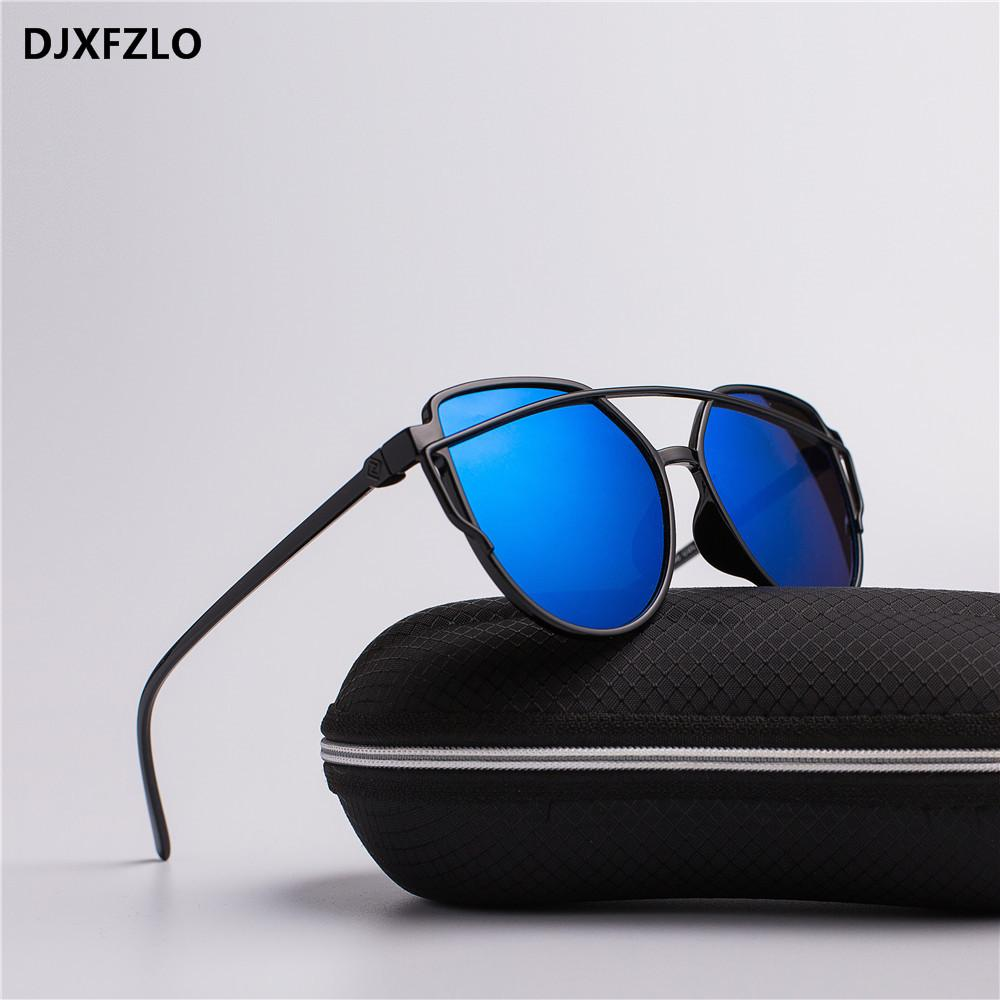 Djxfzlo 2020 nuevas gafas de sol mujeres diseñador de la marca moda retro moda gafas de sol coloridas pop gafas de sol oculos de sol