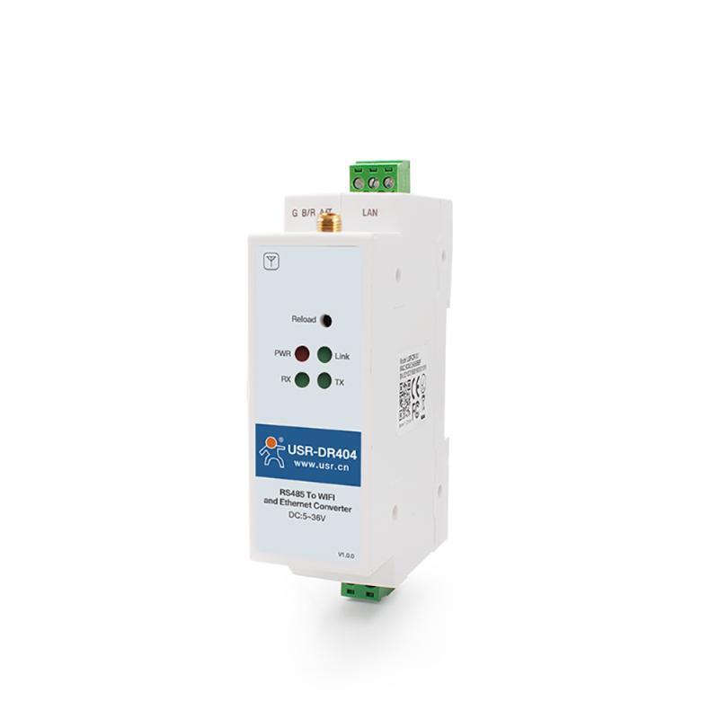 Guida DIN RS485 Seriale per WiFi Convertitore Ethernet Convertitore wireless Network Server 4G Modem cellulare Router Supporto Modbus Gateway GATEWAY Fingerprint
