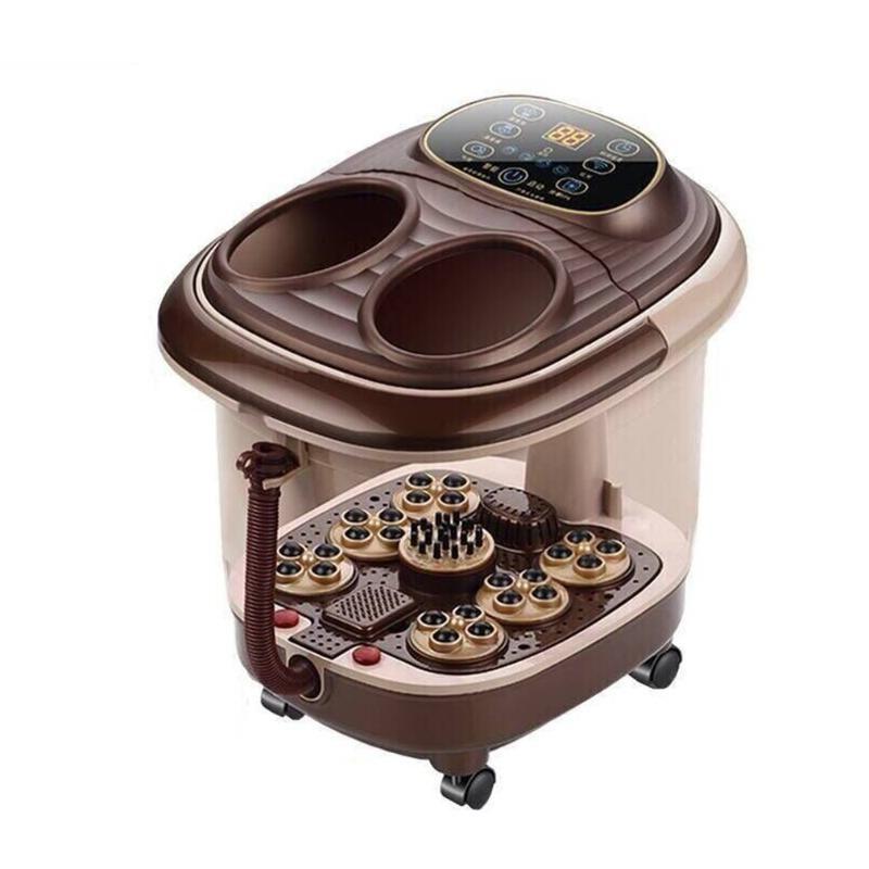Tub Automatic Foot Massage Deep Barrel Heating Electric Wash Basin Foam Bucket Machine Health Product Massagers