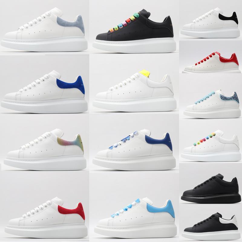 Alexander Mcqueen mcqueens men top quality 2021 designer fashion luxury espadrille flat flats alexander oversized shoes sneaker men women platform shoes baskets sneakers
