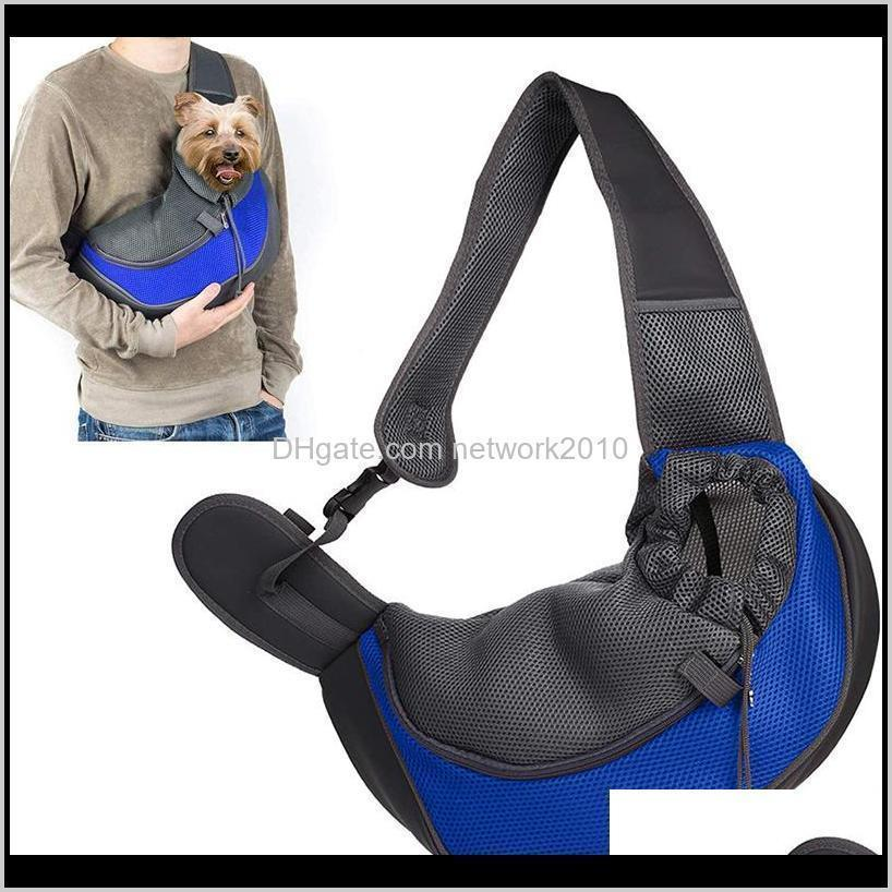 Supplies Home & Garden Drop Delivery 2021 Comfort Dog Carrier Outdoor Handbag Pouch Oxford Single Pet Product Sling Mesh Travel Tote Shoulder