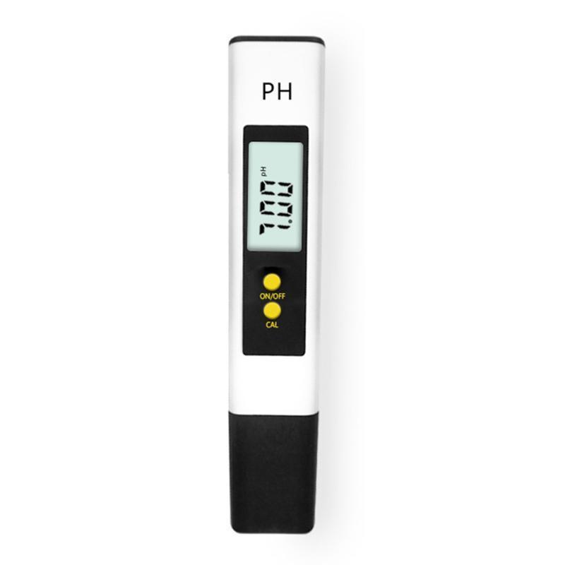 متر التلقائي المعايرة ph متر تستر مفتاح واحد hd شاشة كبيرة acidometer ph02s جودة المياه ماء مراقب القلم