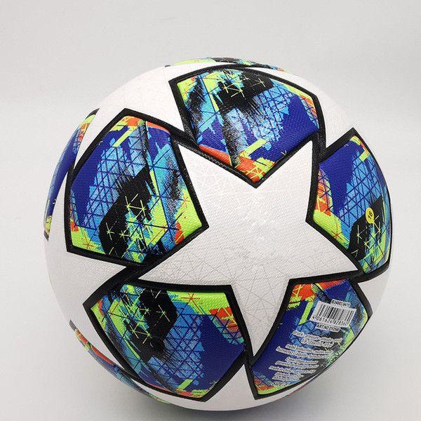 Club Ball Final Kyiv Pu Soccer 2021 5 Bolas High-Grade Nice Match Liga Premer Finals 20 21 Futebol