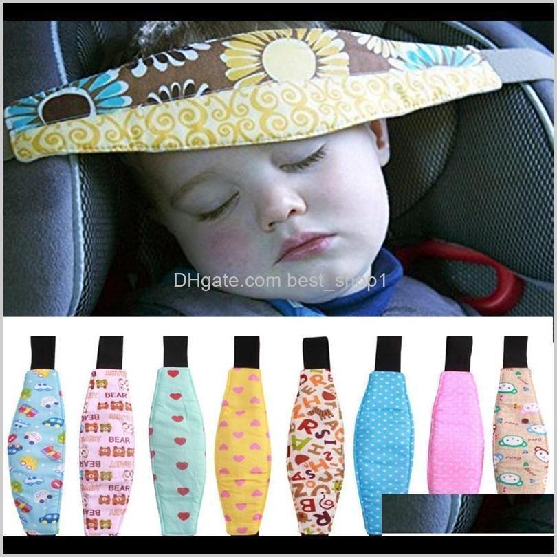 Carrinhos de bebê Baby Pram Fixando Cinto Adjustable Stroller Sleep Positioner Kids Carro Safety Support Kid Head Band Accessories DH ODG7L