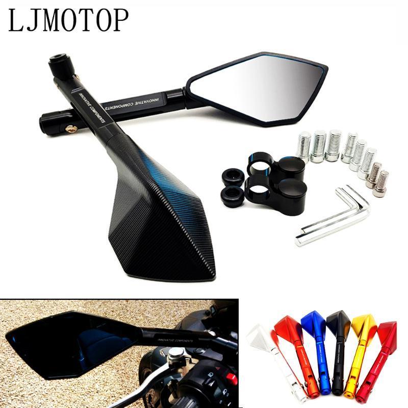 Motorcycle Mirrors CNC Aluminum Universal Rearview Mirror Moto Side For K1200R K1200S K1300S/R/GT K1600GT/GTL