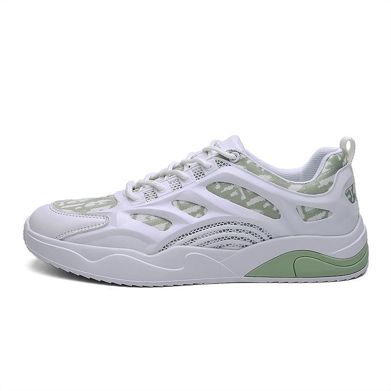 2021 أزياء الرجال النساء الاحذية -11 أسود أبيض فاتح الأزرق الأخضر رمادي مريح المدربين تنفس الرياضة أحذية رياضية الحجم 39-44