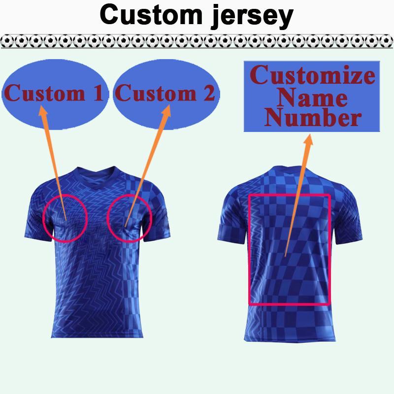 Custom National Team Club Mens Soccer Jersey Top Vous pouvez personnaliser les chemises de football design et le numéro tels que 47 Wuhang