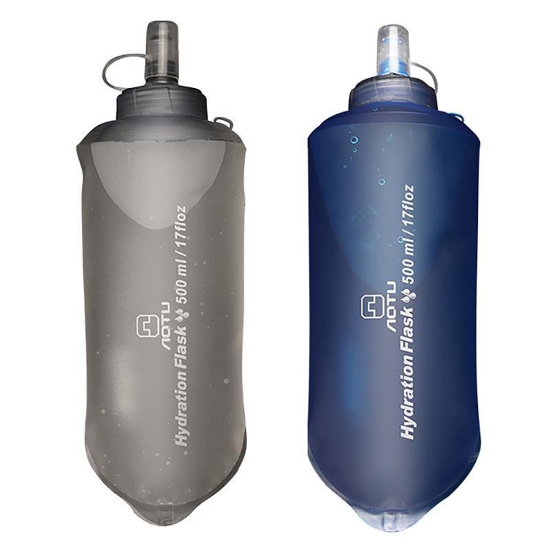 500 ملليلتر المثانة كيس مياه طوي للركوب في الهواء الطلق المشي سترة زجاجة
