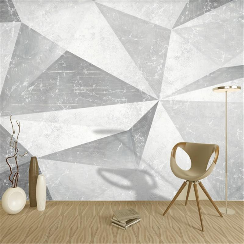 Современные минималистские абстрактные геометрические росписи обои для гостиной телевизор фона стены бумаги дома декор спальня обои
