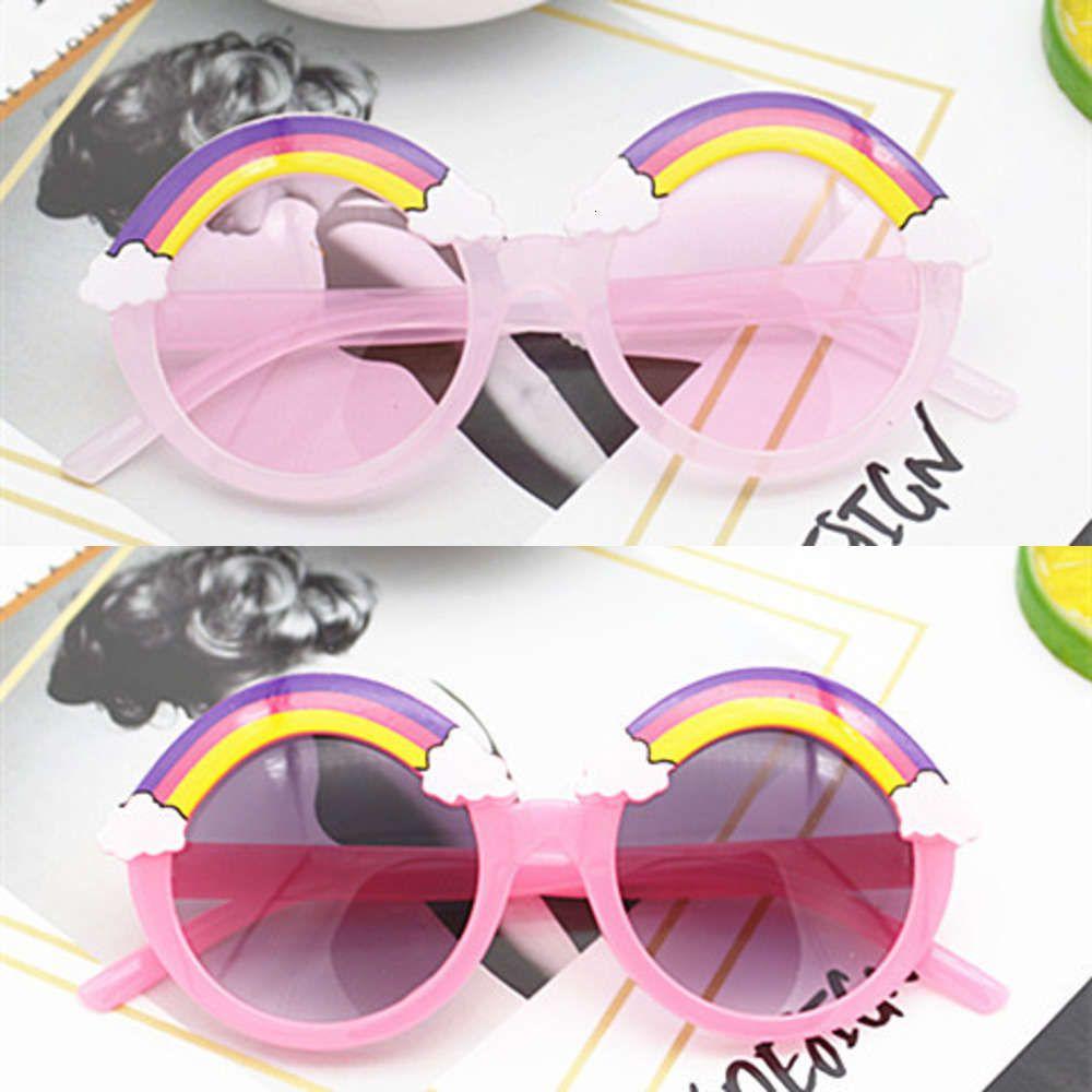 2021 moda crianças óculos de sol e anti ultraviolet bebê