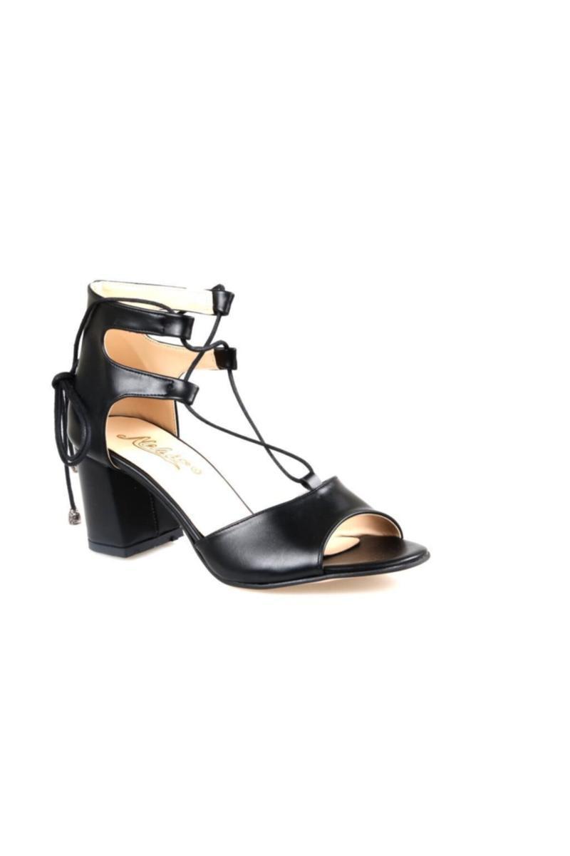 Sandali sandali con tacco alto sandalo nero