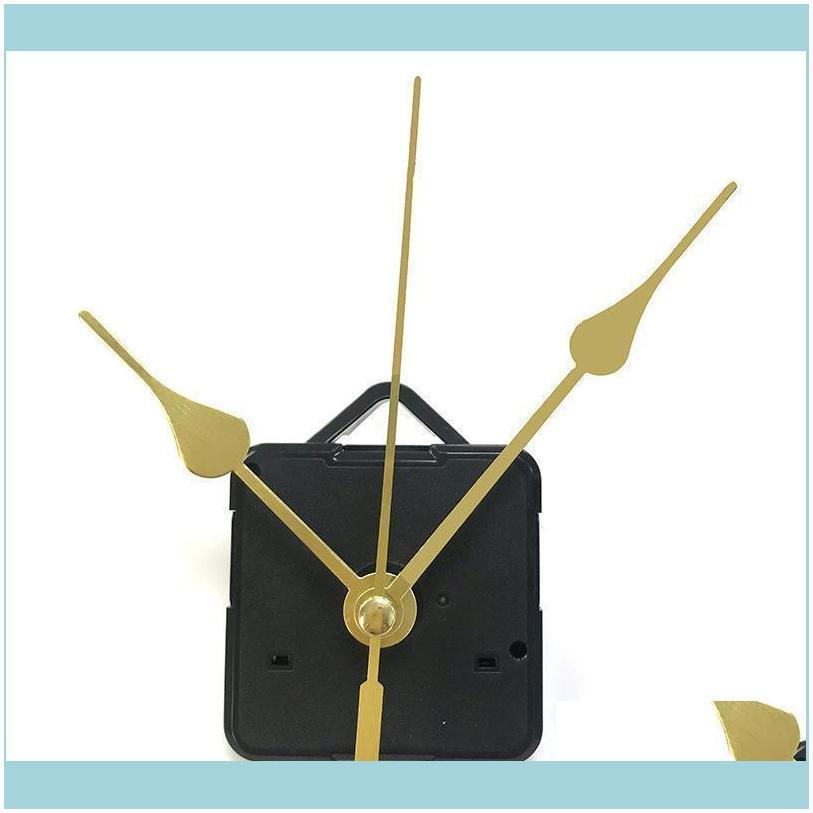 Otros relojes Relojes Relojes DIY Kit de movimiento de cuarzo Negro Reloj Aesoramiento Mecanismo de husillo Reparación con juegos de mano Drop Entrega 2021 a