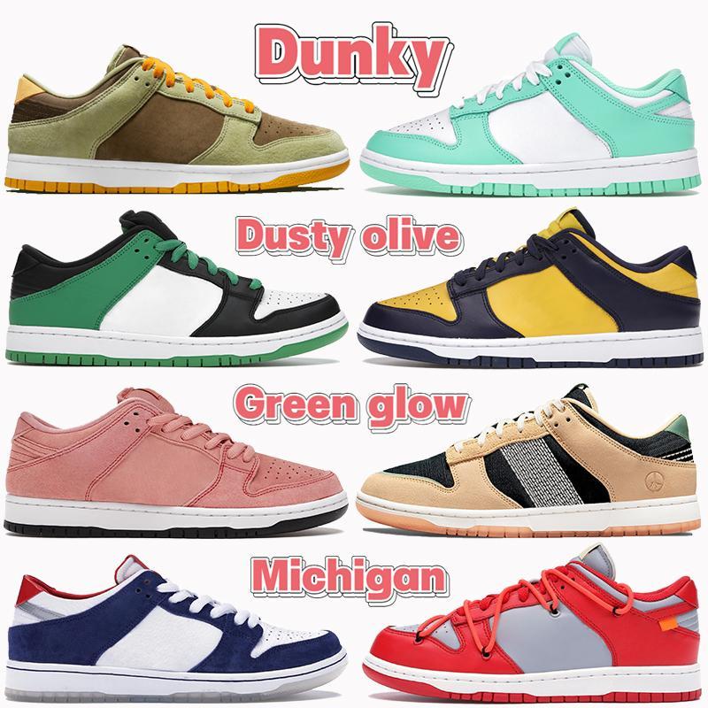 NOUVEAU Mens Basketball Chaussures Shadow Chunky Travis Travis Scotts Classique Vert Kentucky Plum Valentine Jour Basse Fashion Hommes Femmes Sneakers