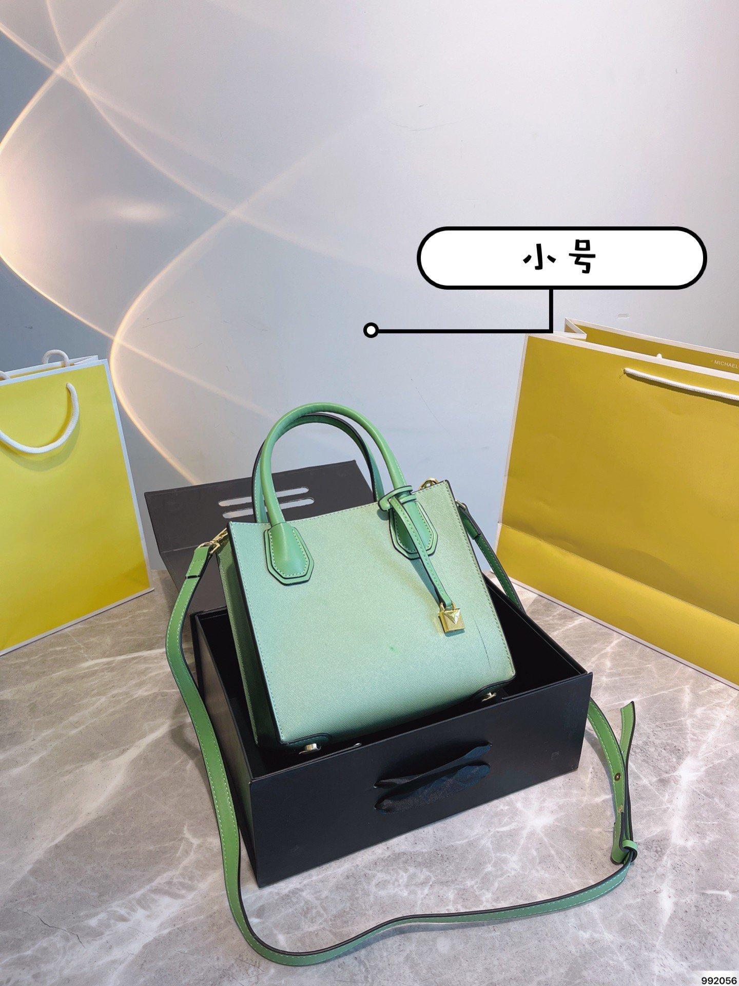 2021 senhoras moda e elegante saco de bloqueio, um ombro, crossbody, portátil hardware logotipo estilo casual tamanho 22