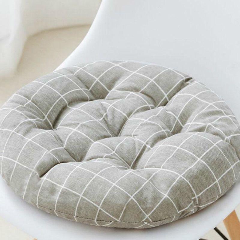Quarto redondo acolchoado assento almofada sala de estar tatami estudante sala de aula verão f8234 210420