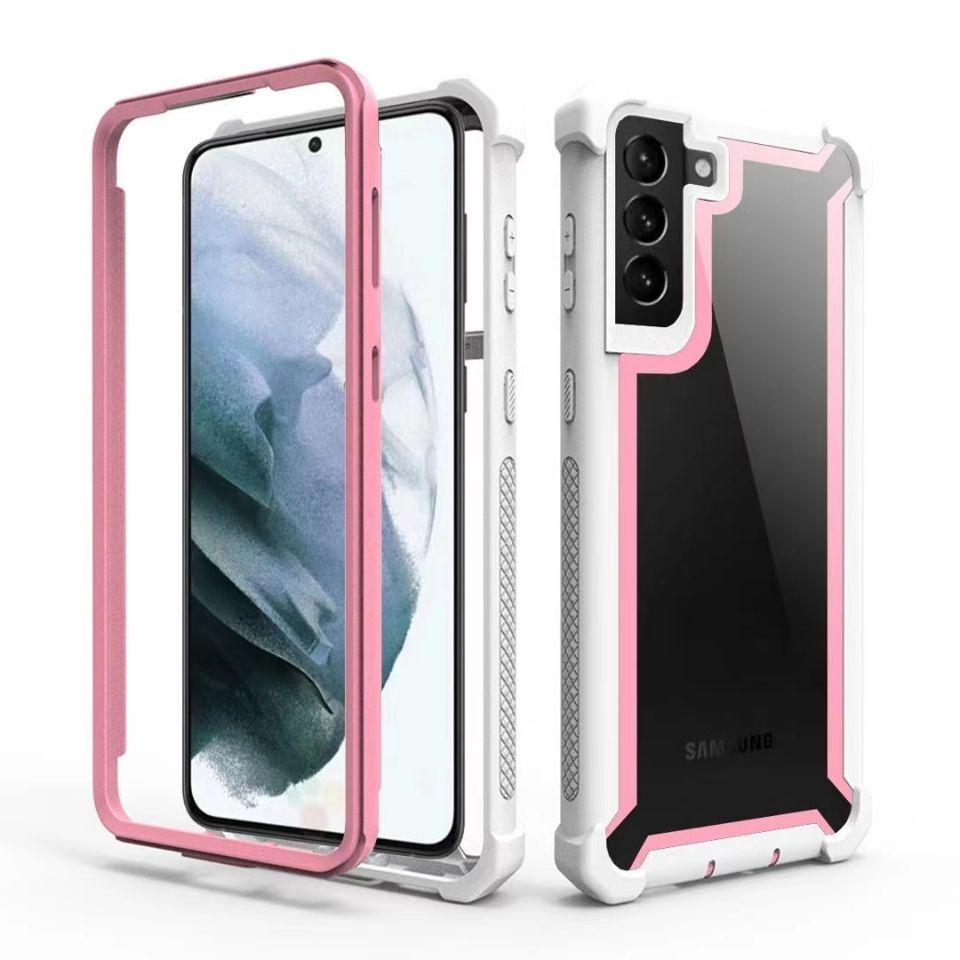 Custodia ibrida trasparente per Samsung Galaxy S21 Plus Note 20 Ultra A42 A12 A32 5G A72 S20 Fe Space Cases Cover