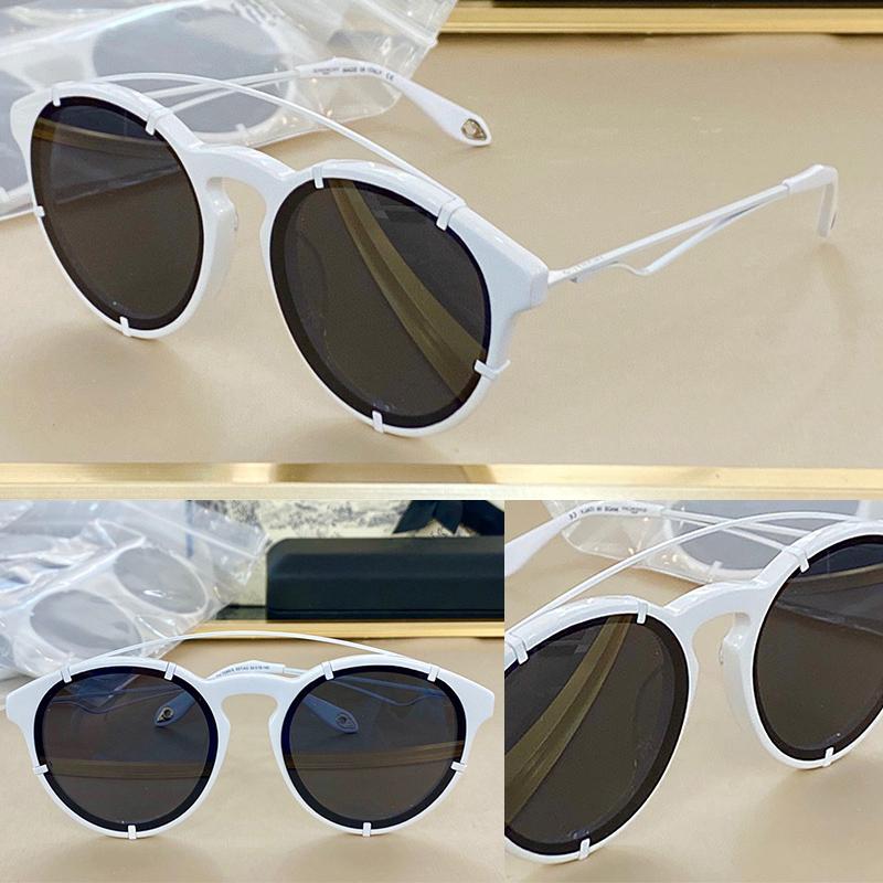 Kadınlar için güneş gözlüğü Yaz tarzı anti-ultraviyole retro 7088 plaka tam kare moda gözlük rastgele kutu