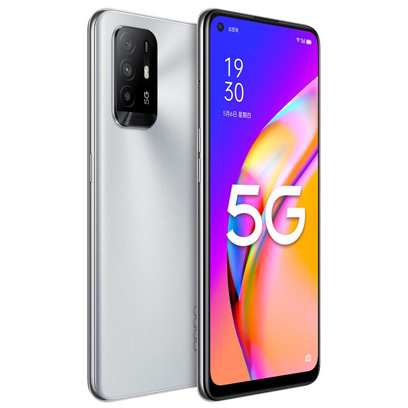 "Original Oppo A95 5G Mobiltelefon 8 GB RAM 128 GB 256GB ROM MTK Dimension 800U 48mp AI 4310MAH Android 6.43 ""Am gelöster Vollbild-Fingerabdruck-ID Gesicht Smart-Mobiltelefon"