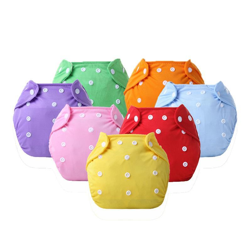 طفل القماش حفاضات غطاء قابل للغسل الوليد إدراج قابلة لإعادة الاستخدام الحفاض لفصل الصيف