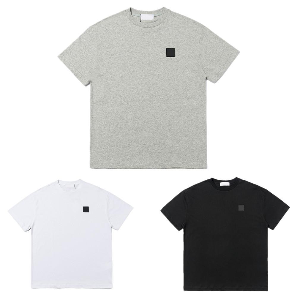 남자 티셔츠 고품질 코튼 반팔 디자이너 라운드 목 티셔츠 여름 패션 배지 womens tshirts streetwear 캐주얼 티셔츠 남자 의류