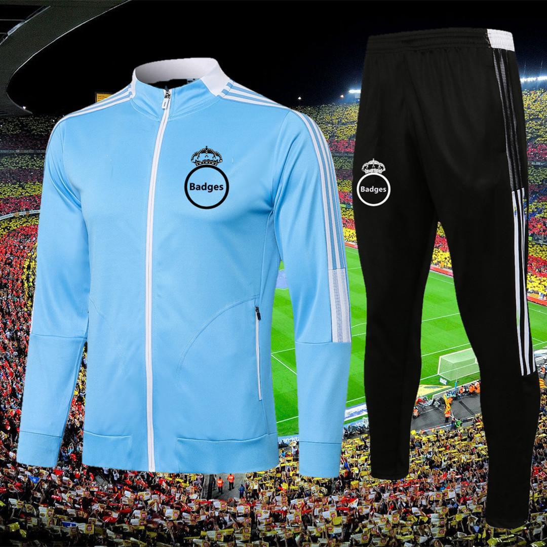 2021 2022 Real Madrid kids soccer Training suit Jacket 21/22 camiseta de futbol HAZARD BENZEMA MODRIC Jogging football Tracksuit