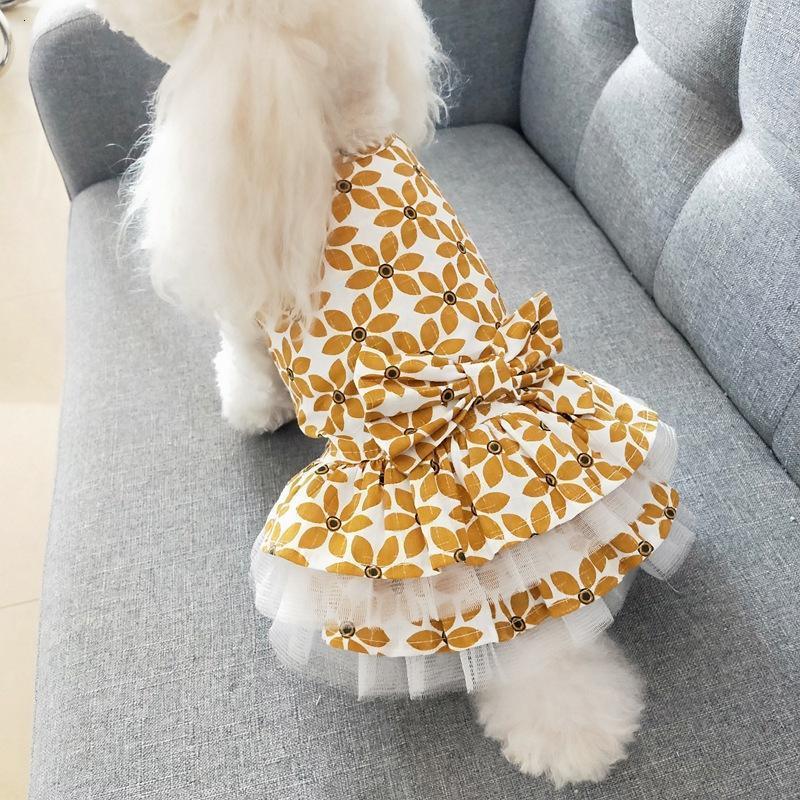 Abbigliamento per cani per cani Chihuahua Piccolo cane costume costume per cucciolo animale domestico carino disigner vestiti estivi abbigliamento vestito sorgere yorkies