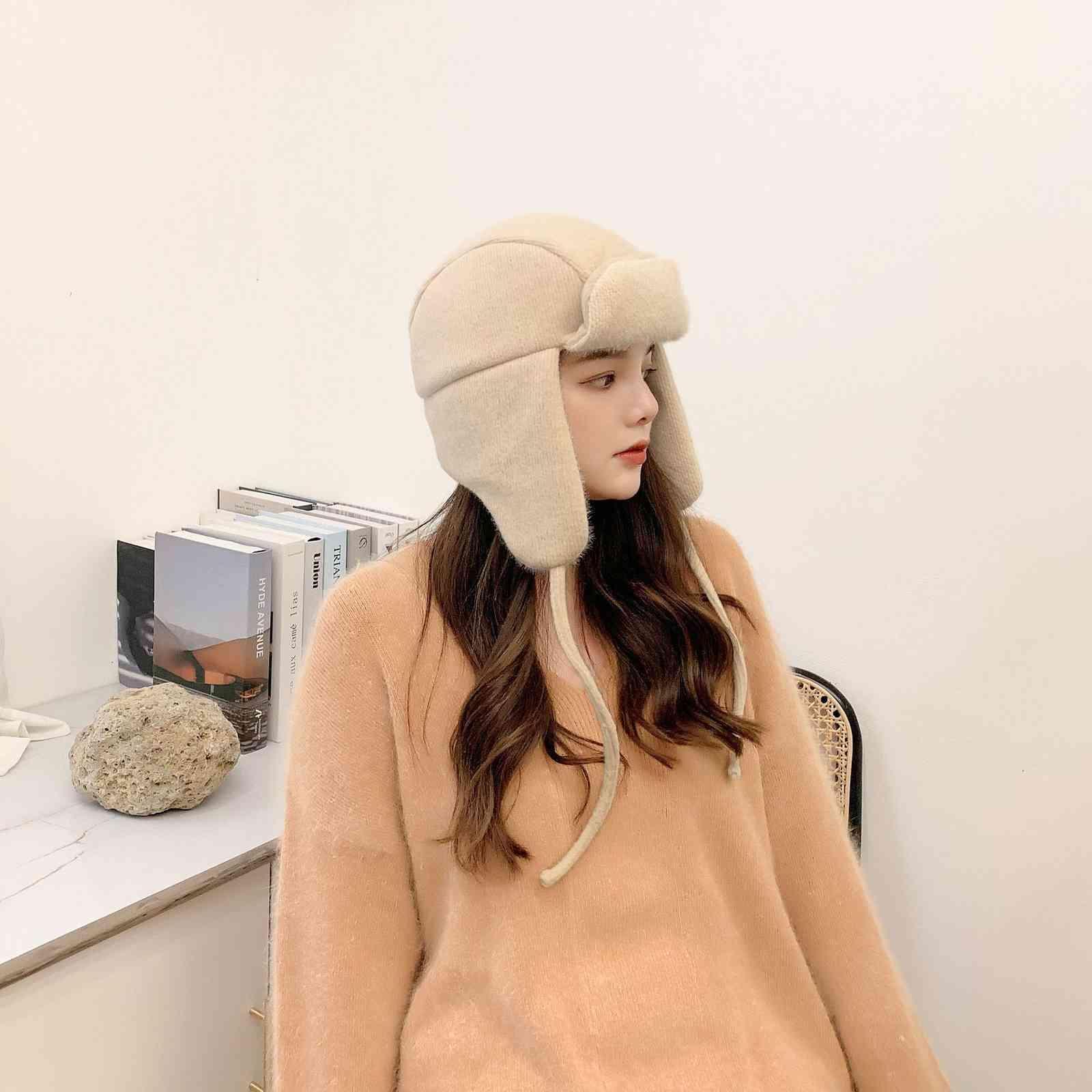 Hut Frauen wild 2020 Neue heiße Art Mode Winter warm und Samt Lei Feng