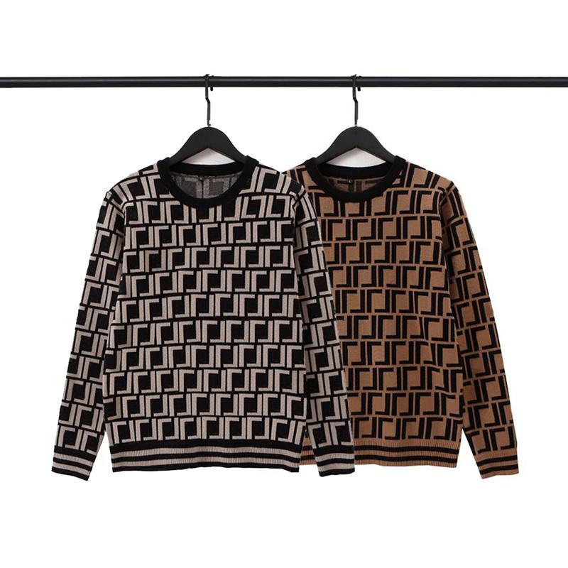 Hombre para mujer diseñadores f suéteres jersey hombres con capucha de manga larga suéter sudadera bordado prendas de punto hombre ropa ropa de invierno