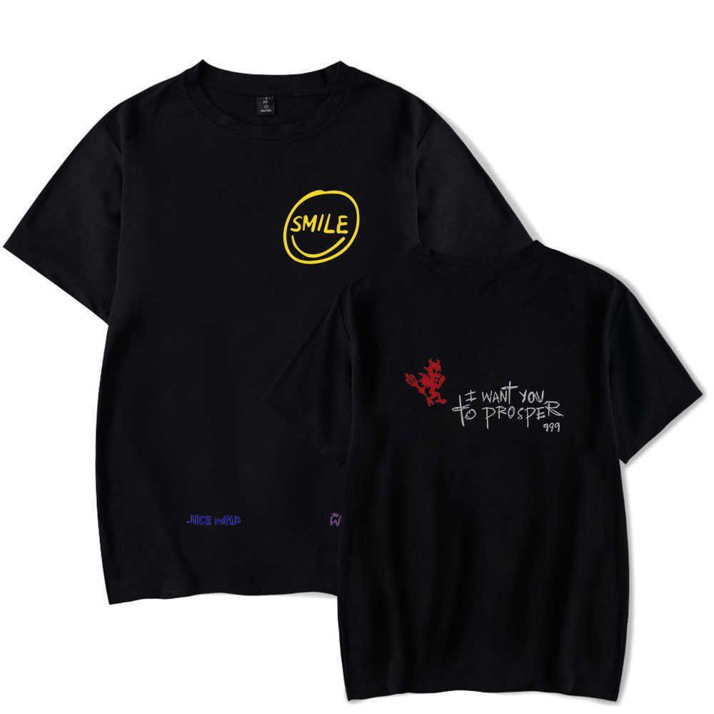 Suyu WRLD T Gömlek Erkek Kadın Yaz Trendleri Mektuplar Baskı Senorita Pop Hip Hop Yakışıklı Şarkıcı Gri Çocuklar Tişört Casual 210629