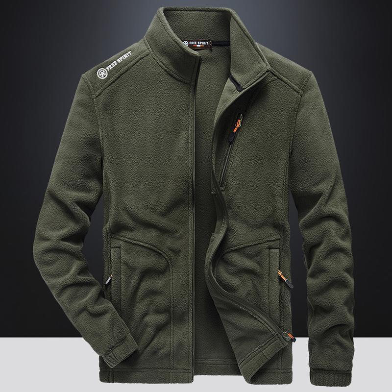 Jaquetas masculinas jaqueta de inverno homens calor tático softshell windbreaker lã outwear turismo casacos de montanha exército homem vestuário