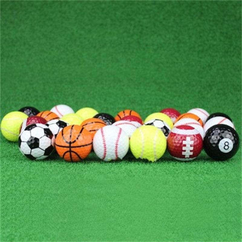 Golf Praxis Bälle Spiel Ball Geschenk Sport Geschenk Set Viele Stile Kernel Elastische Gummi Dupont Shell Wiederverwendbar 3JL DD