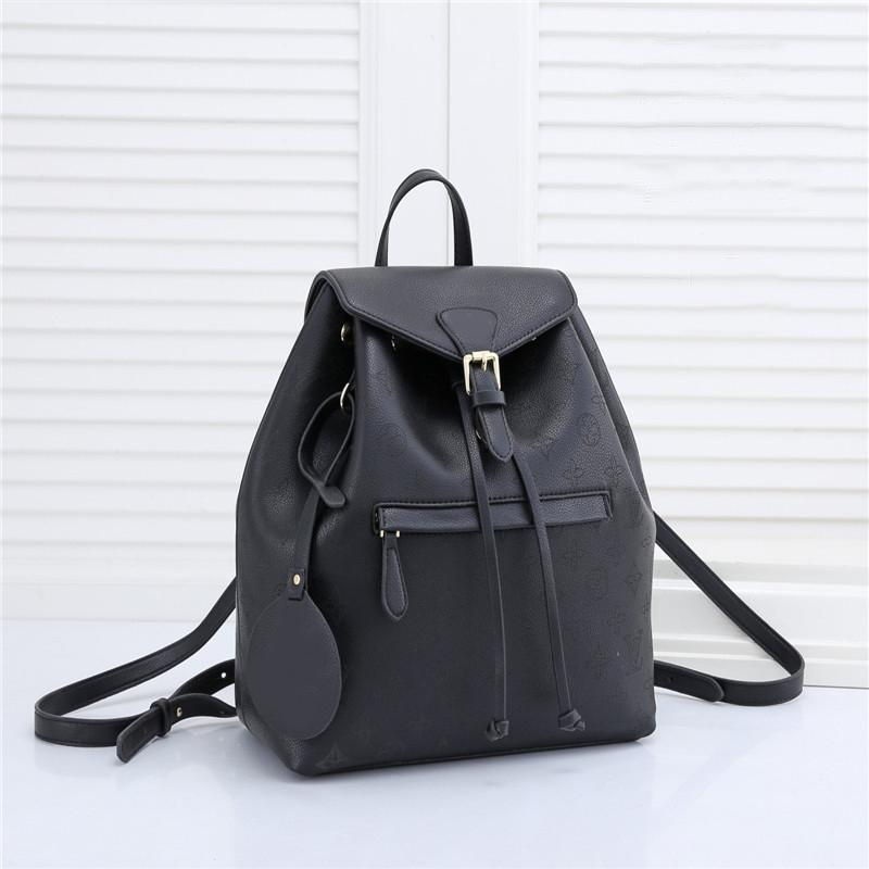 HH Fashion Backpack School bag Women luxurys designers bags Hollowed out Backpacks leather Handbags messenger crossbody shoulders Totes purse Wallets M43432